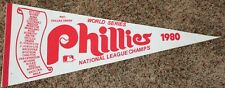 1980 NL Champs World Series Roster Pennant Phillies Schmidt Rose Carlton McGraw