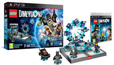 Lego Dimensions Starter Pack Ps3 Playstation 3 It Import Warner