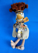 original ❤️ vintage 1999 Dreamworks AARDMAN CHICKEN RUN soft toy MAC THE BRAINS