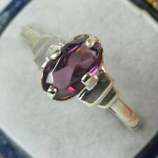 9 Carat Garnet Yellow Gold Art Deco Fine Jewellery