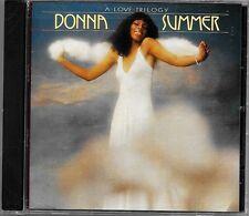 A Love Trilogy by Donna Summer (CD, Jun-1992, Casablanca)