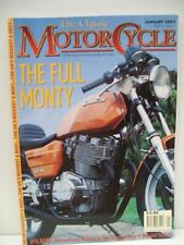 Classic Motor Cycle Magazine, 5 issues 2002 Jan to May