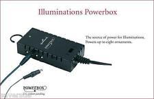 2005 Illuminations Snowflake Snowballs Box Christmas Tree Lights Power Box