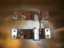 SUZUKI SAMURAI REMOVABLE DOOR CHECK STRAPS QUICK RELEASE ALL YEARS CAMO