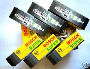 X6  BOSCH SUPER 7581 Spark Plug !!PACK OF 6!!!