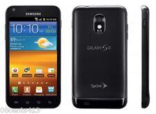 Samsung Galaxy S II 2 SPH-D710 -16GB Vortex Black Sprint Touchscreen Smartphone