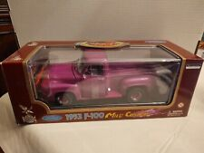 Road Legends 1:18 Collection 1953 Ford F-100 Pick Up Mild Custom Purple New