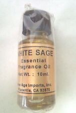 White Sage Essential Oil Fragrance India Aroma Oils 10 ml WHOLESALE ~ free ship