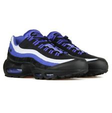 Nike AIR MAX 95 ESSENTIAL Running Shoe BLACK/VIOLET 749766 501 Men Size 11.5