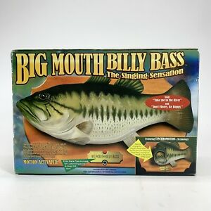 NEW Vintage Big Mouth Billy Bass Singing Fish 1998 Take Me To the River