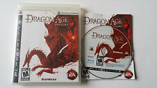 Dragon Age Origins (Sony PlayStation 3, 2009) french complete francais ps3