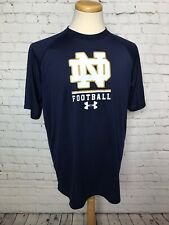 NOTRE DAME FOOTBALL UNDER ARMOUR Men's Large Shirt