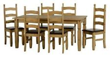 Up to 8 Seats 7 Pieces Traditional Table & Chair Sets