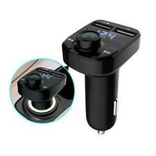 Wireless Bluetooth Handsfree Car Kit FM Transmitter MP3 Player 2 USB Charger Sal