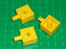 3 x LEGO yellow brick ref 6232 / set 7632 7344 10134 7775 4559 6195 7669 7259 ..