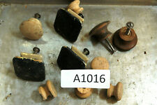 (11) Pcs. - Assorted Wooden Ball Knobs - some w/ screws  # A1016