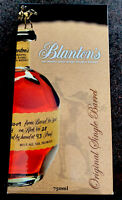 Blanton's Empty Box The Original Single Barrel Bourbon Whiskey Display Box Used