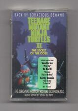 TEENAGE MUTANT NINJA TURTLES II - Original soundtrack SEALED cassette 1991