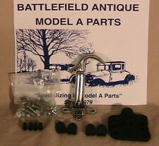 1928 and 1929 Model A Ford, Ratrod, Streetrod Stainless Steel Hood Latch Kit.