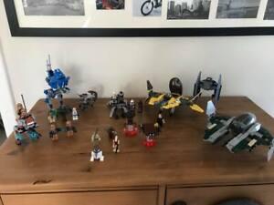 LEGO STAR WARS BUNDLE ,KITS 9494/7256/75002/9488/75089 INCLUDING MINIFIGURES