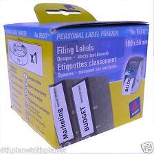 Genuine Avery R5017  110 x Fililng Labels 190 x 56mm