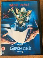 Gremlins DVD 1984 Monster Comédie Horreur Film Classique En Snapper Étui
