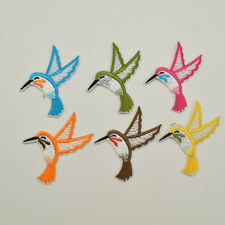 30ps Small Bird Iron on Applique Patch Embroidered Patches Sew On Design