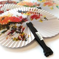 3 x CHINESE PAPER FAN GIRLS TOY WEDDING FAVOR PRIZES BIRTHDAY PARTY BAG FILLER