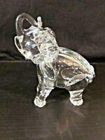 MURANO GLASS Elephant Sculpture Art Glass