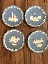 Lot of 4 Wedgwood Christmas Collector Plates I970,71,73,74