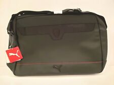 6b8bde0cce Puma Ferrari Saffiano Black Adjustable Strap Messenger Bag