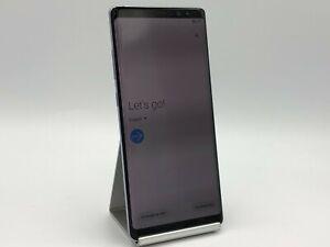 Samsung Galaxy Note 8 64GB Midnight Black Unlocked Burn In Very Good Condition
