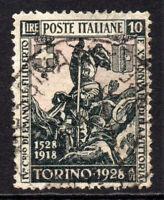 Italy 10 Lire Stamp c1928 Used Cat £225 (4783)
