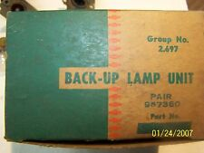 NOS 1956 Chevrolet Back-Up Lamp Unit Original GM 987360 RARE