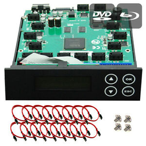 Produplicator 1-15 CD/ DVD/ BD Blu-ray SATA Burner Duplicator Copier CONTROLLER