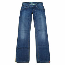 EDC By Esprit Jeans - Modell PLAY - W24 L34 / ca. Gr 32 - Hüftjeans - Used Look