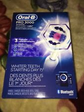 Oral-B PRO 3000 3D White Smart Series Rechargeable Toothbrush 3 Mode Toothbrush