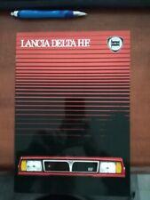 DEPLIANT BROCHURE LANCIA DELTA HF 08/1983 ITALIANO 24 PAGINE