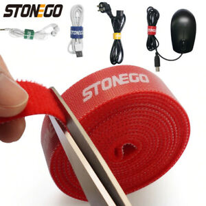 USB Cable Winder Cable Organizer Ties Mouse Wire Earphone Holder HDMI Cord Tape