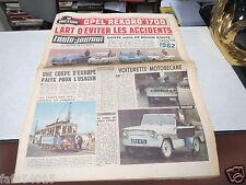 """L AUTO JOURNAL N° 288 28 decembre 1961 Opel """"Rekord"""" 1700 au banc d'essai  *"""
