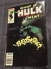 What If? #45  Hulk went Berserk Marvel Comics 1984 Sienkiewicz