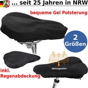 Sattelabdeckung Gel Sattelbezug Sattelüberzug Fahrrad Sattel Sitz Sitzbezug Bike