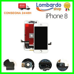 LCD Für Apple IPHONE 8 Weiß Display Original Tianma Touch Screen Mit Frame 8G