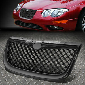 FOR 99-04 CHRYSLER 300M BLACK POWDERCOAT DIAMOND MESH FRONT BUMPER GRILLE GUARD