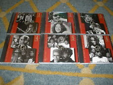 TIME LIFE THE ULTIMATE ROCK COLLECTION CD'S VOLUMES 1-6