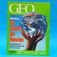 GEO Magazin 9/1994 Heißer Kosmos Algen Sumo-Ringer Italien Welt-Bevölkerung