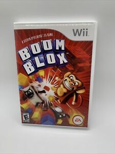 Nintendo Wii Boom Blox Video Game with Manual Tested Complete , clean!