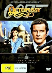 OCTOPUSSY DVD 007 ROGER MOORE REGION 4 NEW AND SEALED