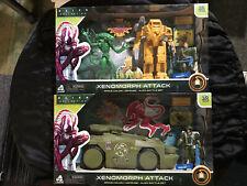 Super Power Cargador & avanzada armadura personal vehículo portador conjuntos de ataque extraterrestre Colección Muñeco