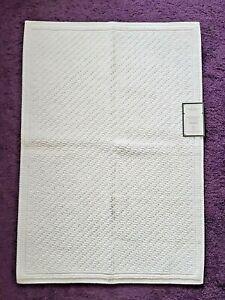 White Bath Mat~Threshold~21 in. x 30 in.~100% Cotton